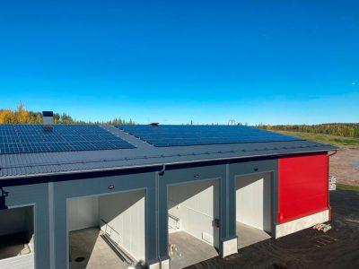 A-energialuokan kiinteistö. 27.9.2021.